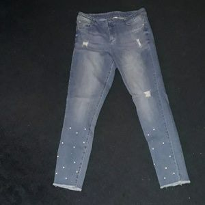 Arizona Jean Co beaded girls jeans